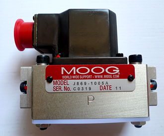 伊顿液压有限公司_J869系列 MOOG 伺服阀